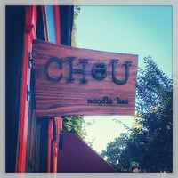 Photo taken at Cheu Noodle Bar by Trenton China R. on 10/8/2013