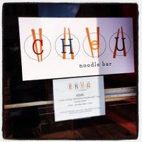 Das Foto wurde bei Cheu Noodle Bar von Trenton China R. am 4/10/2013 aufgenommen