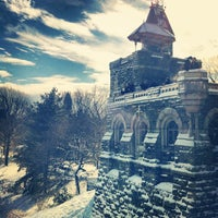 Photo taken at Belvedere Castle by Matthew S. on 2/9/2013
