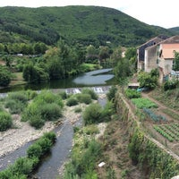Photo taken at Olargues by Yann V. on 8/15/2015