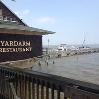 Photo taken at Yardarm Restaurant by Melissa O. on 4/26/2014