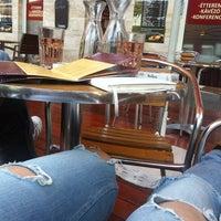 Photo taken at Premium Cafe & Étterem by Dalocska on 6/4/2014