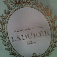Photo taken at Ladurée by Cara L. on 9/18/2012