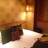 Photo taken at Hotel Coco Grand Ueno Shinobazu by Sayaka on 8/4/2014
