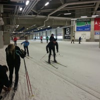 Photo taken at Skihalle Oberhof by Tobias D. on 11/19/2013