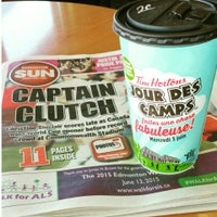 Photo taken at Tim Hortons by David Y. on 6/7/2015
