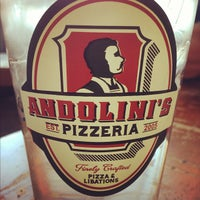 Photo taken at Andolini's Pizzeria by Cody B. on 11/3/2012