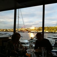Photo taken at McCormick and Schmick's Harborside by Suga J. on 5/19/2013