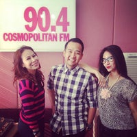 Photo taken at 90.4 Cosmopolitan FM by Riana B. on 4/5/2013