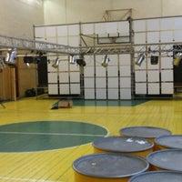 Photo taken at Smiltenes Sporta Skola by Ugis S. on 1/1/2014