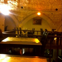 Photo taken at Acar Karavan Gözleme & Hammâm-î Ziyafe by Merve I. on 10/21/2012