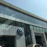 Photo taken at Volkswagen Calicut by Jinad on 1/2/2018