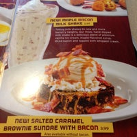 Photo taken at Denny's by Jonathan V. on 4/14/2013