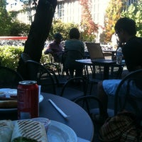 Photo taken at Coupa Café at Green Library by Nicolas B. on 10/28/2012