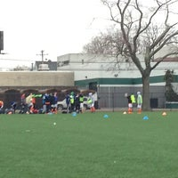 Photo taken at City of New Rochelle Alan R. Skidelsky Memorial Field by Dana I. on 3/2/2013