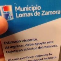 Photo taken at Municipalidad de Lomas de Zamora by Lizzie S. on 6/13/2013