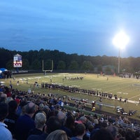 Photo taken at South Forsyth High School Football Stadium by Russ M. on 9/21/2013