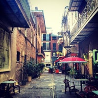 Photo taken at Tony Seville's Pirates Alley Cafe & Old Absinthe House by Adam C. on 12/1/2013