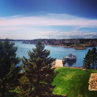 Photo taken at Colonial Pemaquid State Historic Site by Adam C. on 4/28/2013