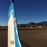 Photo taken at Boulder Municipal Airport by Julia H. on 10/25/2014