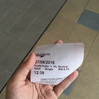 Photo taken at KTM Komuter Kuala Kubu Bharu (KA14) Station by Fana F. on 8/27/2016