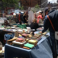 Photo taken at Columbus Ave Flea Market by John T. on 5/26/2013