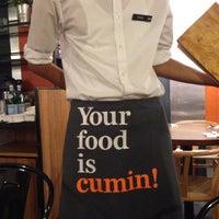 8/9/2013 tarihinde John T.ziyaretçi tarafından Zaffron Kitchen'de çekilen fotoğraf