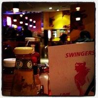 Photo taken at Swingers by Steven S. on 12/12/2012