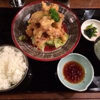 Photo taken at ホルモン・もつ鍋 とんちゃん by Yoshiyuki K. on 2/18/2014
