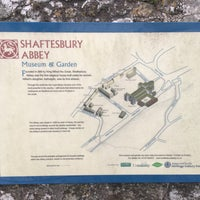 Photo taken at Shaftesbury Abbey And Garden by Vonetta S. on 12/30/2016