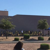 Photo taken at Zaharis Elementary School by Crystal S. on 4/1/2014