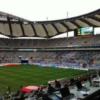Photo taken at Seoul Worldcup Stadium by Ga Yoon L. on 11/4/2012