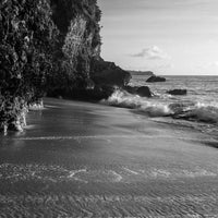 Photo taken at Tegal Wangi Beach by Hughie W. on 12/31/2016
