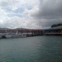 Photo taken at Jetty Point (Jeti) by Syafiq R. on 6/17/2013