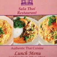 Photo taken at Sala Thai IV Restaurant (Troy) by Harris on 1/3/2013