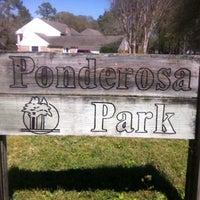 Photo taken at Ponderosa Park by karen e. on 3/13/2013