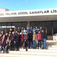 Photo taken at Yüksel Yalova Güzel Sanatlar Lisesi by TC Nuray A. on 12/15/2016