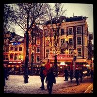 Photo taken at Leidseplein by Александр Ф. on 2/14/2013