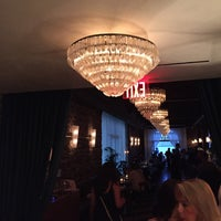 Photo taken at Cecconi's Dumbo by Sarah E. on 7/29/2017