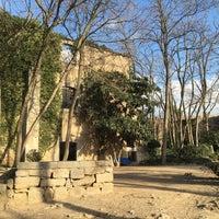 Photo taken at Antiga Caserna dels Alemanys by Gregory K. on 12/29/2015