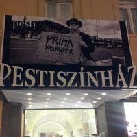 Photo taken at Pesti Színház by Sztrakkay T. on 10/14/2012