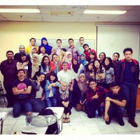 Photo taken at Fakultas Ilmu Sosial dan Ilmu Politik (FISIP) by Arie R. on 5/26/2014