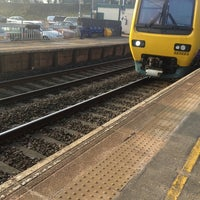 Photo taken at Holmes Chapel Railway Station (HCH) by Paul N. on 3/5/2013