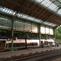 Photo taken at Gare SNCF d'Évian-les-Bains by Paola R. on 9/11/2014