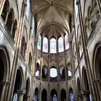 Photo taken at Collégiale Notre-Dame Mantes-La-Jolie by Paola R. on 4/21/2014