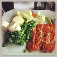 Photo taken at Senzala Restaurante by Elaine M. on 4/21/2013