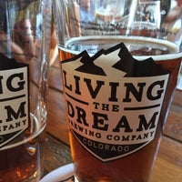 Photo taken at Living The Dream Brewing by Renee C. on 9/21/2017