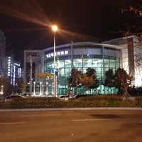 Photo taken at 해운대문화회관 by Noah K. on 11/22/2013