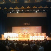 Photo taken at Infosys Building 50 Convention Center by Venkatesha R. on 11/20/2012