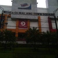 Photo taken at Malang Town Square (MATOS) by mr kuk s. on 1/22/2013